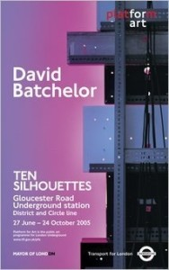 David Batchelor Poster 757
