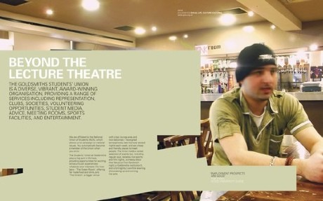 Under graduate prospectus spread 464