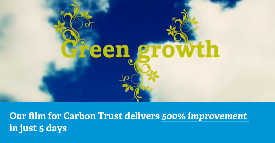 Carbon Trust Green growth video