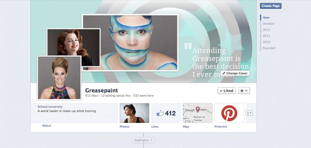 Greasepaint Facebook management