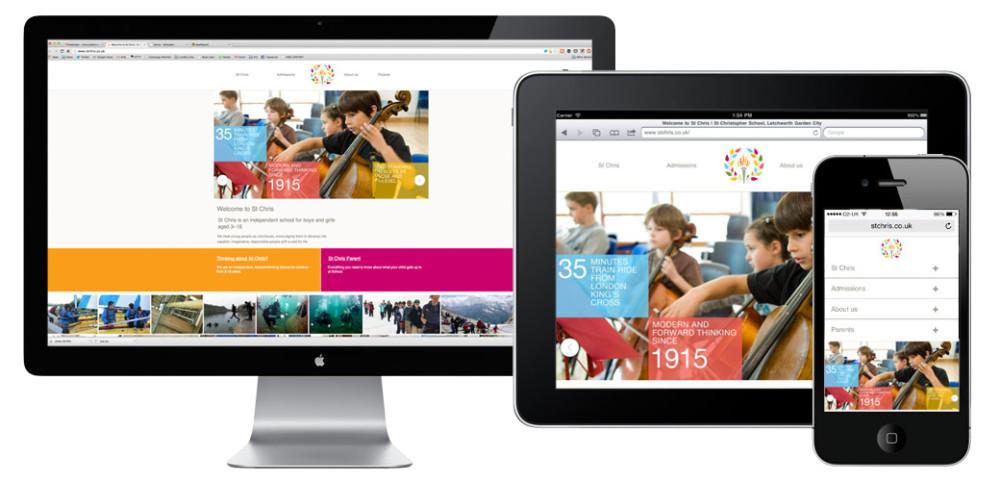 St Chris School Website