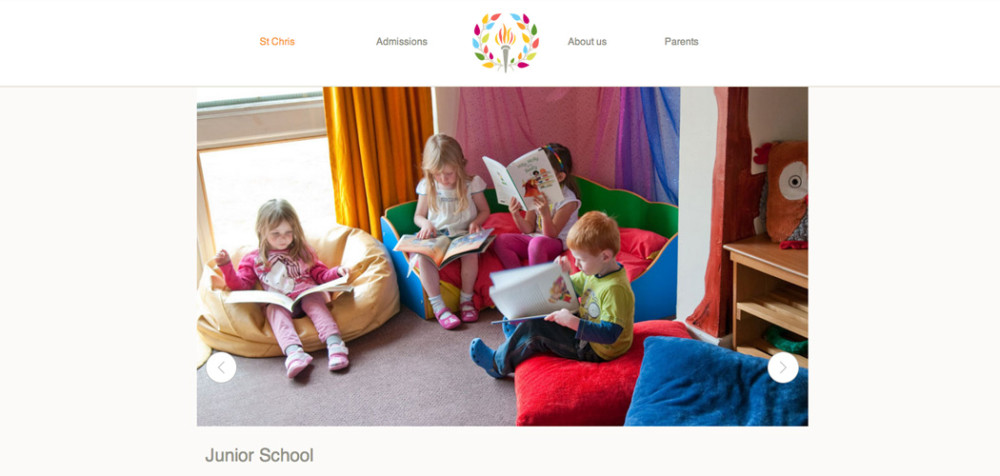 St Christopher School website