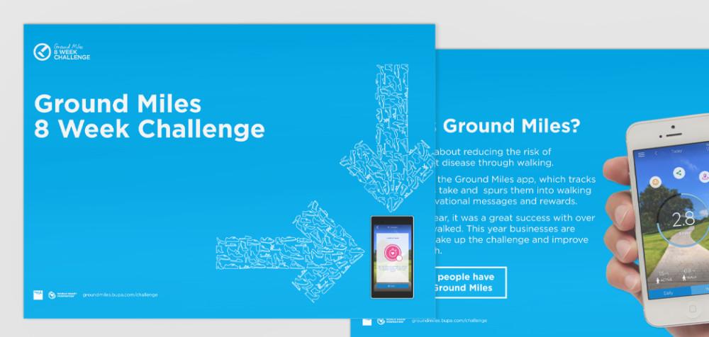 Bupa Groundmiles app
